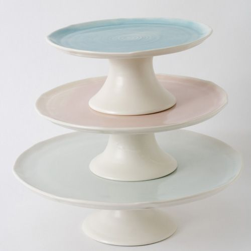 Cake stands. Linda Bloomfield.