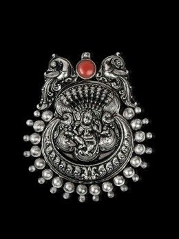 Sterling Silver, Baal Gopala (Krishna) Pendant Handmade by Temple artisans down 400 years from a remote hamlet in South India. Just a single piece, never to be found again.