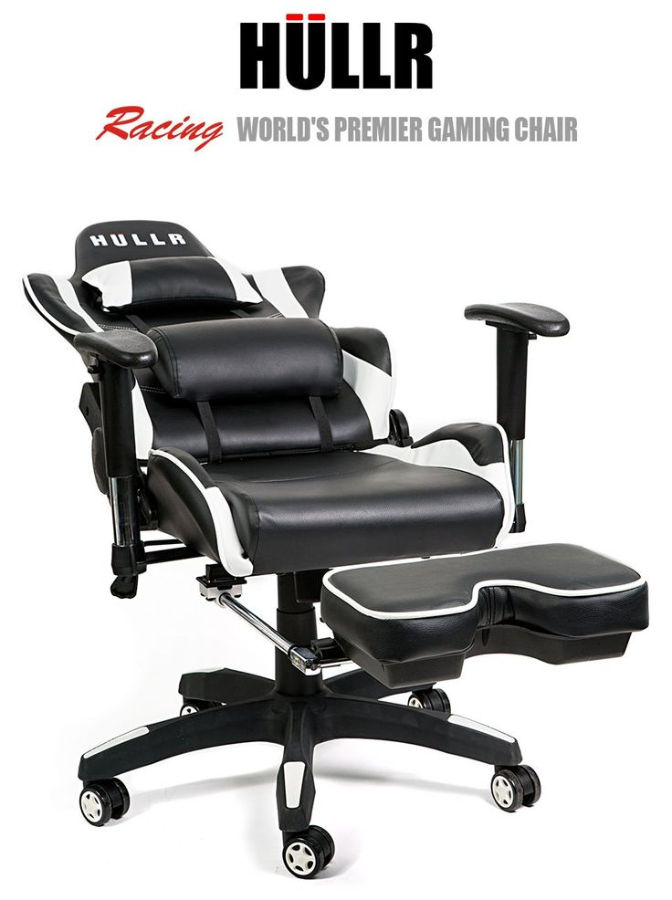 Hullr gaming racing computer office chair with