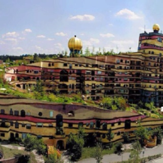 Waldspirale - a residential building in Germany
