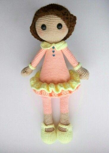нежная девочка родилась благодаря онлайну от Desislava, как же она мне нравится!!! #amigurumi #weamiguru #toys_gallery #crochet #crochettoy #doll #handmade #вяжутнетолькобабушки #crochetdoll #амигуруми #кукла #куколка #хендмэйд #вязание #вязаниеназаказ #кукларучнойработы