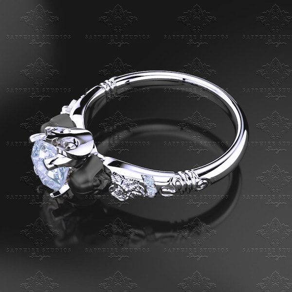 This Star Wars Themed Engagement Ring Includes Mini Vader