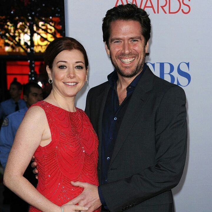 """38 Likes, 1 Comments - HIMYM-FanPage (@howimet_waitforit_yourmother) on Instagram: """"💑 Alyson Hannigan (Lily Aldrin) with her husband Alexis Denisof (Sandy Rivers) #lilyaldrin…"""""""