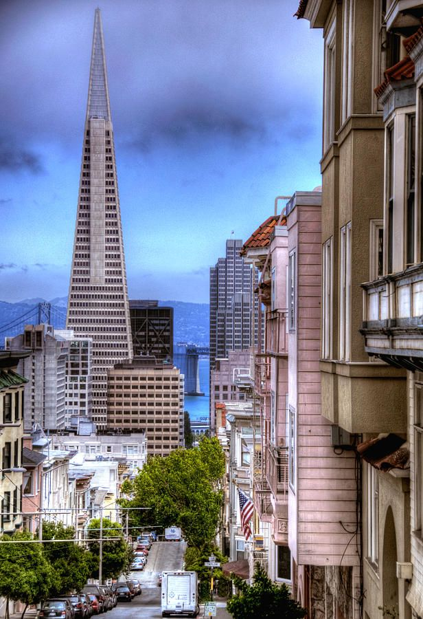 San Francisco // Transamerica Pyramid ~ the tallest skyscraper in the San Francisco skyline and one of its most iconic