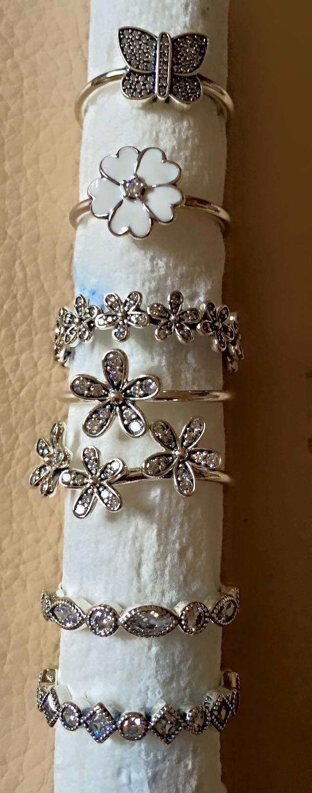 Pandora spring rings! WOMEN'S JEWELRY http://amzn.to/2ljp5IH