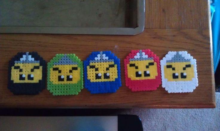 Lego Ninjago Perler beads