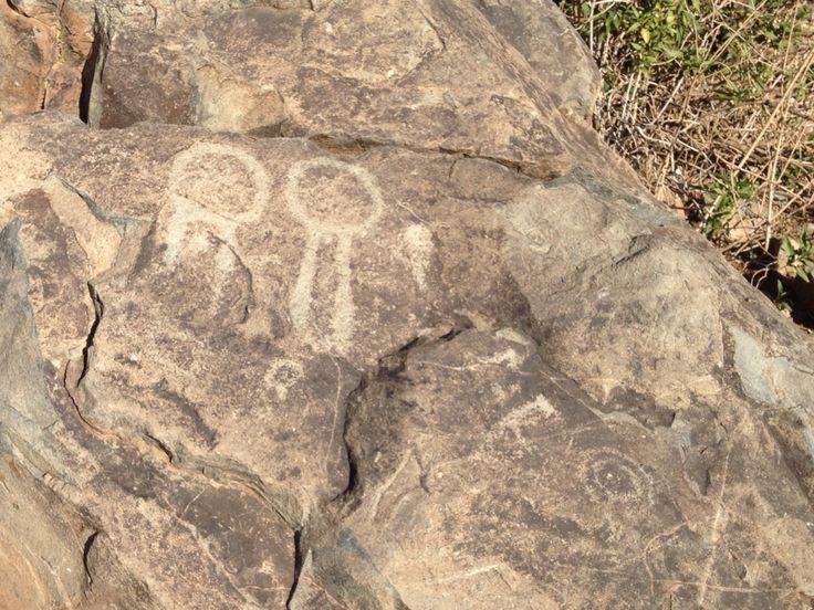 Petroglifo diaguita Chile