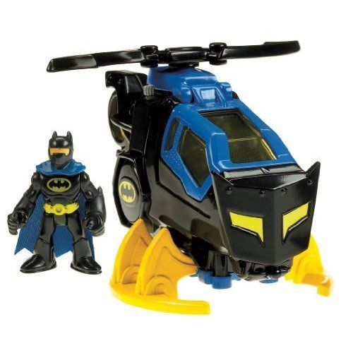 Batman Batcopter Helicopter Activity Toy For Boys Birthday Gift By Fisher Price #FisherPrice