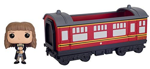 From Harry Potter the Hogwarts Express Engine with Hermione Granger as a stylized POP Rides vinyl from Funko! Ride stands 5 inches tall and comes in a window display box. Check out the other Harry Po...