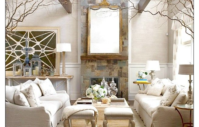 Great Grey Belgian With Cozy Sofa And Big Mirror Best Decoration