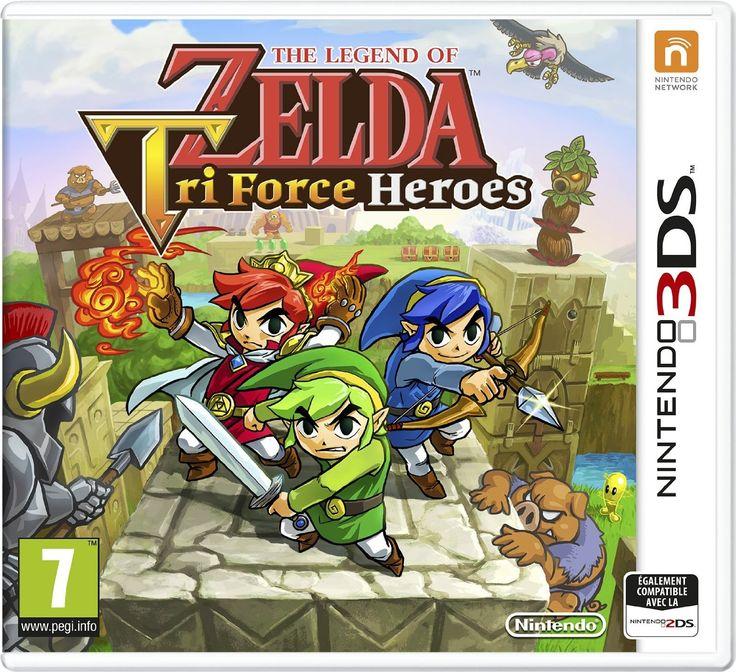 The Legend of Zelda : Tri Force heroes: Amazon.fr: Jeux vidéo priorité 1 !!!!!!!!