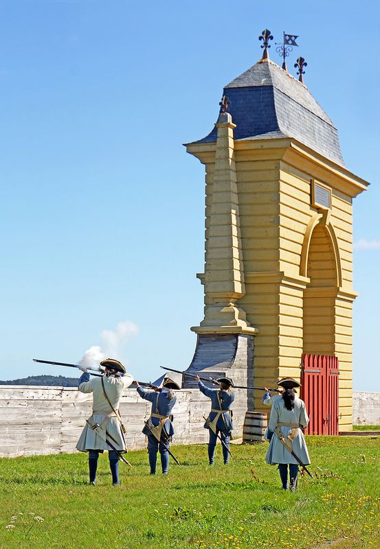 Fortress of Louisbourg, Louisbourg, Cape Breton Island, Nova Scotia, Canada.