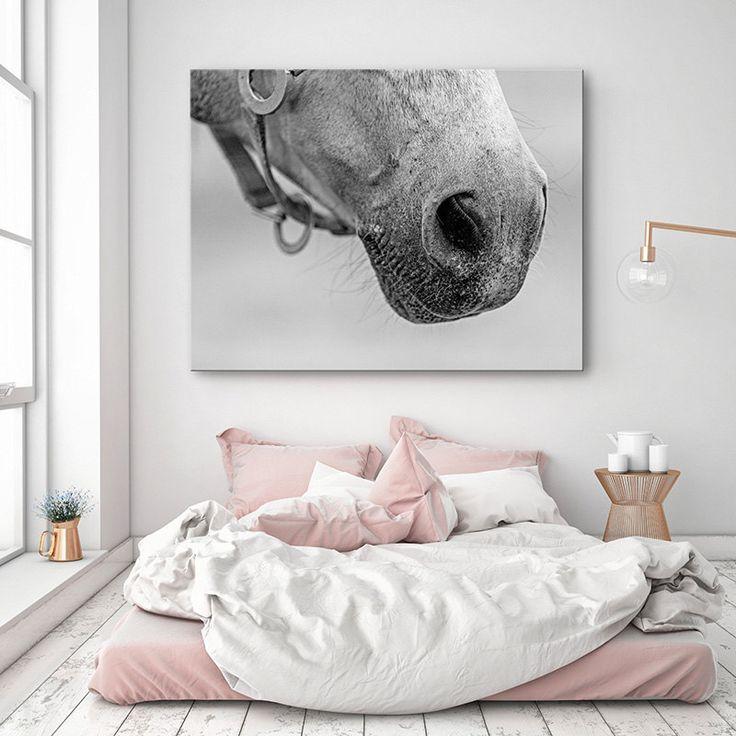 Horse decor Large Canvas art Horse photography