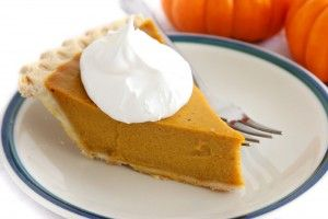 Slice of pumpkin pie - Are you going to eat some this Thanksgiving?