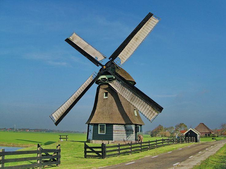 bouwen - afbeelding om een windmolen na te bouwen (oud)