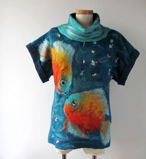 http://polandhandmade.pl/  #polandhandmade #clothing #felting