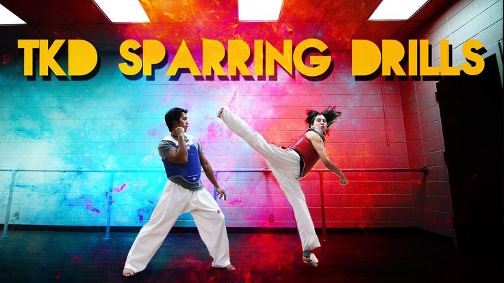 TKD Sparring Drills for Beginners
