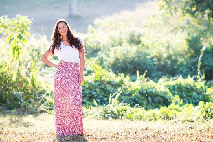 Pink & Ivory Maxi Skirt by Love Long Length. Clothing Collection for tall women in South Africa (www.lovelonglength.co.za)