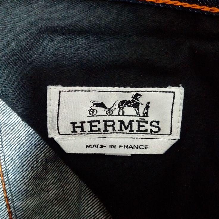 Details About Hermes Denim Jeans Pants 34 Hermes