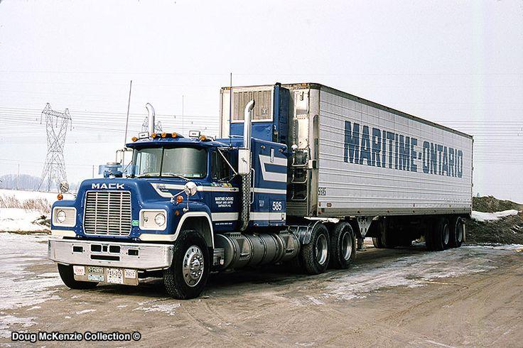 Mack r model taken at brampton on on february 15 1987