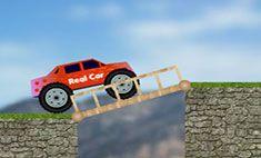 """Köprülü Araba ilerleyebilmek ve kaza yapmadan etap sonlarına kadar gidebilmek için """" Köprü """" kurmak zorunda ve engellerden birer birer geçmek zorunda. Uygulamada yapılacak bu görevler doğrultusunda sizde uçurumların arasına tahtadan köprü kurmalı kamyonun kaza yapmasını engellemelisiniz.  http://www.mariooyunu.com.tr/koprulu-araba.html"""
