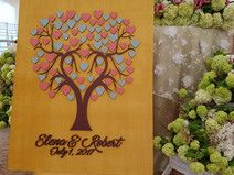 JubileeTree-Wedding 3D Guestbook Unique Gift Idea