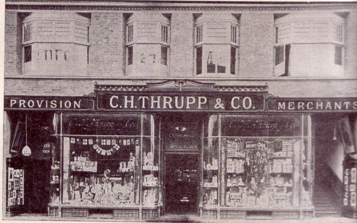 Thrupp's, Pritchard Street next to John Orr's (1956)