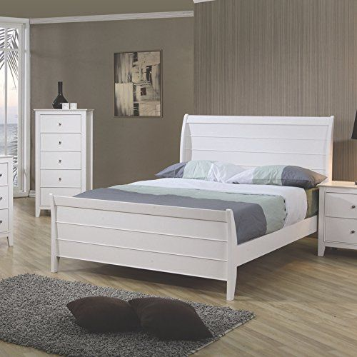 Coaster Home Furnishings 400231F Transitional Bed Full White *** Want additional info? Click on the image.