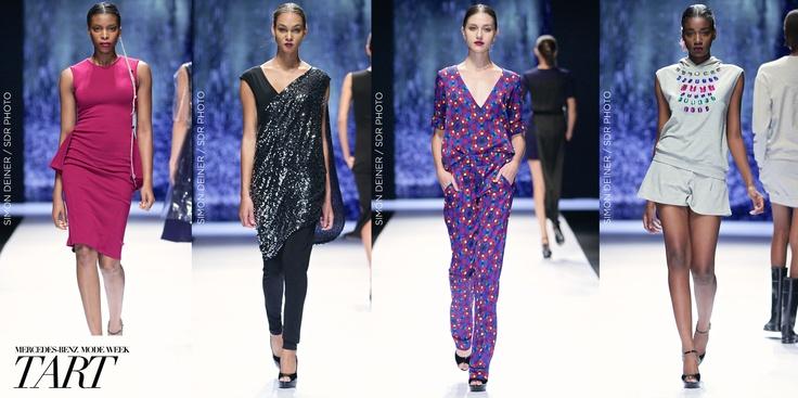 TART. Mercedes-Benz Fashion week JHB 2013.