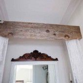 Rustic Valance for the Bath