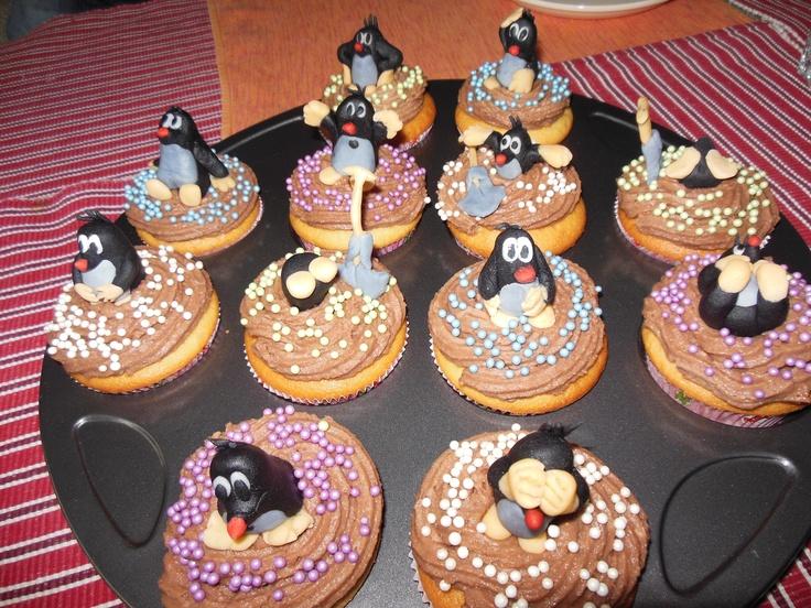 Little Mole Cupcakes