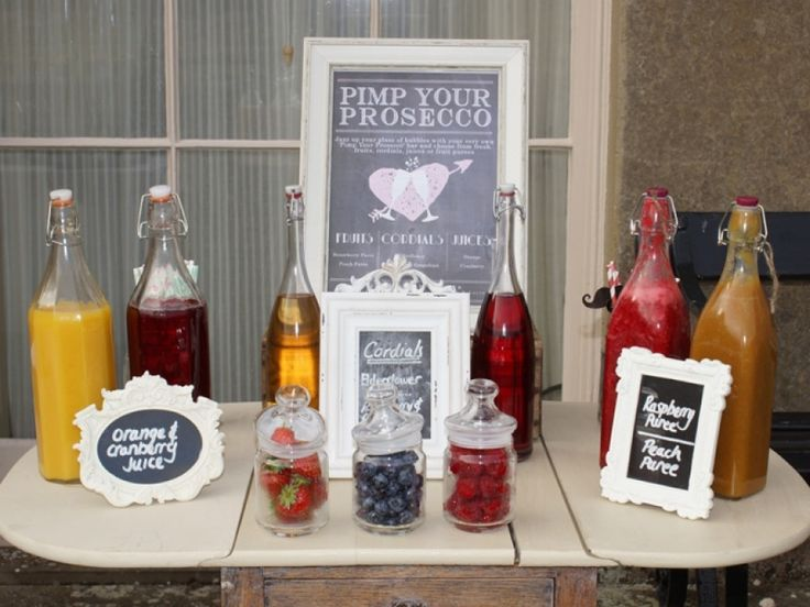 10 ways to pimp up your prosecco- DIY prosecco bar