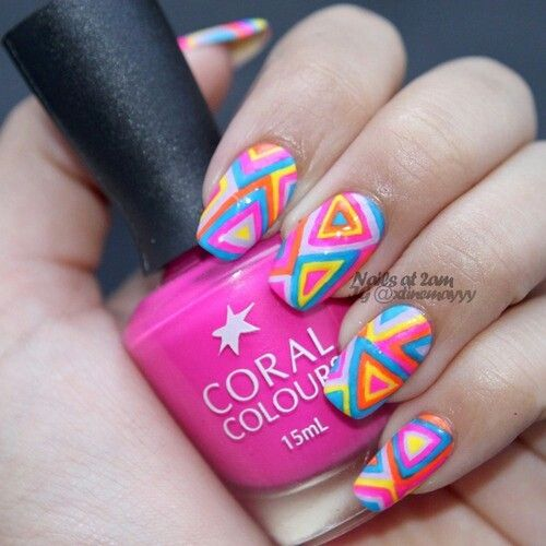 Grt color nail...