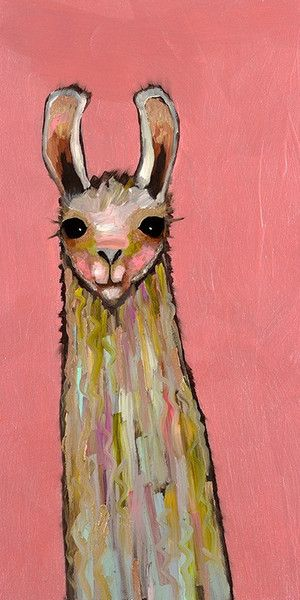I may have created a reputation for myself at McBeard as the girl who really digs llamas... I'm proud to rock it. I'd have to say that hands down my favorite Pinterest board is called 'llAWWma'