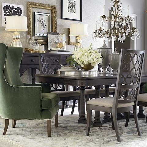 Bassett Furniture Rectangular Dining Table. Unfortunately, This Is Not A  Set. Chairs Are Part 40