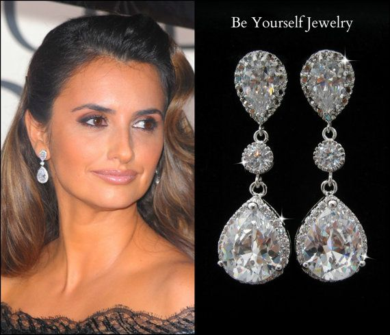 Earrings For Wedding Dress - Ocodea.com