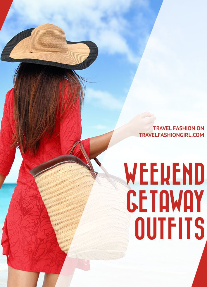 Take the stress out of packing with these 3-day weekend getaway outfits for summer. They'll help make packing a breeze! http://travelfashiongirl.com/weekend-getaway-outfits/ via @travlfashngirl #packing #list #travel