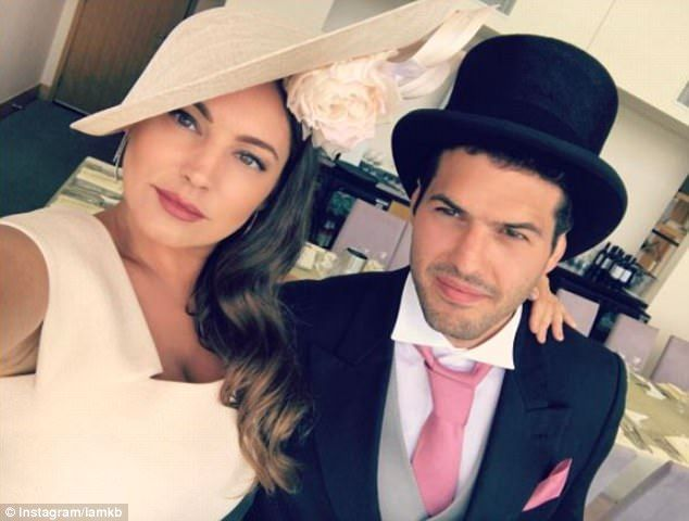 You won't win any bets like that! Glamorous Kelly Brook hardly acknowledges Ascot Races as she snaps selfies throughout while dazzling with beau Jeremy Parisi
