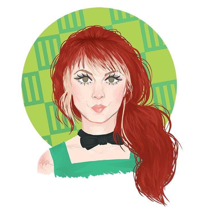 hayley williams hair 2008 - photo #32