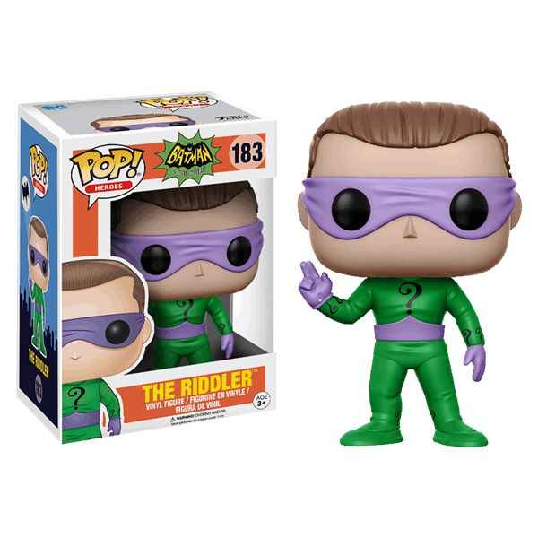 DC Comics - Batman - Riddler 1966 Pop! Vinyl Figure - ZiNG Pop Culture