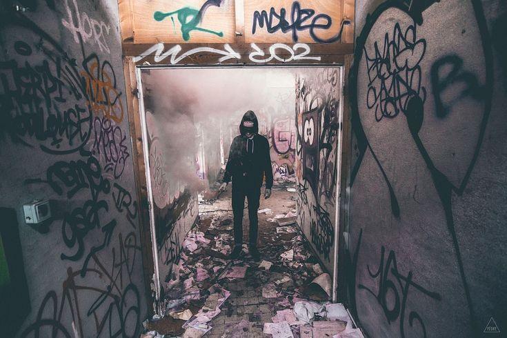 Grunge, Graffiti, Mur, Art, Marquage, Balises