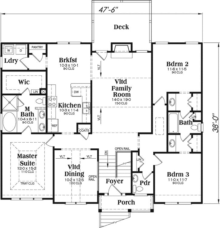 19 best split level images on pinterest floor plans for Split entrance house plans