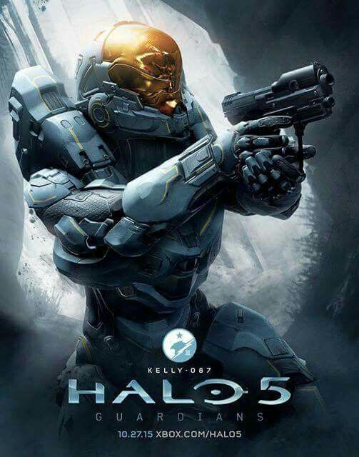Halo 5. Kelly, the fastest Spartan.