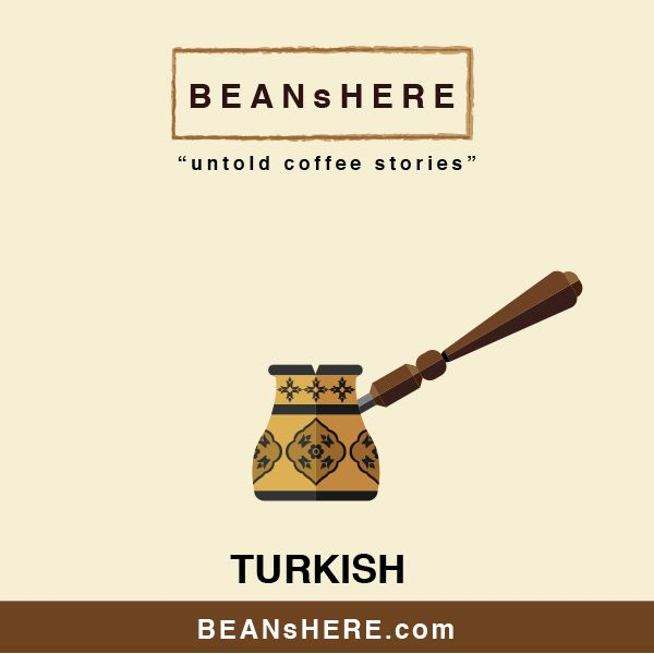 Turkish coffee maker by BEANsHERE