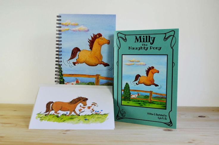 Milly The Naughty Pony Gift Set
