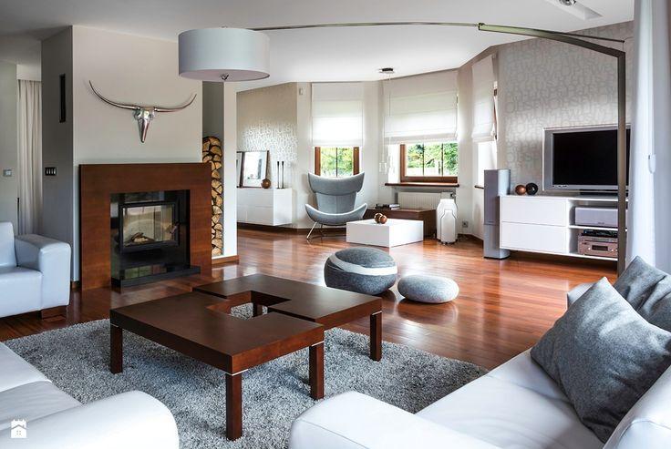 Salon styl Minimalistyczny - zdjęcie od Bianco Design