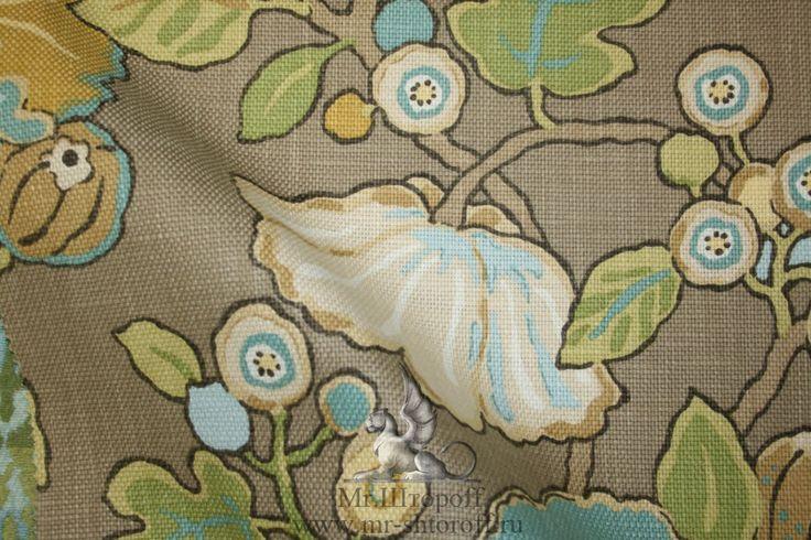 Mr.Штороff | Этническая ткань для штор - Коллекция Tara. Производство - Бельгия.