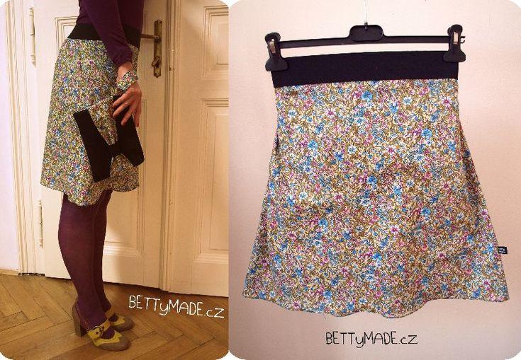 Spring skirt tutorial