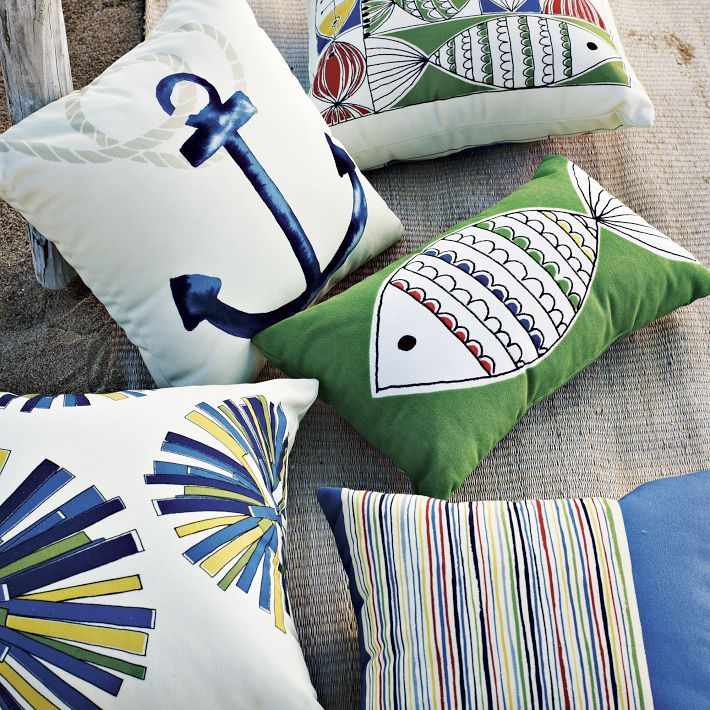 Pillows for the patio