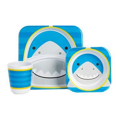 giggleBABY™ by Skip Hop® Shark Tableware - jcpenney #baby #mealtime #cute